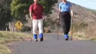 Istruzioni sul nordic walking