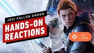 Star Wars Jedi Fallen Order Hands-On Impressions - E3 2019