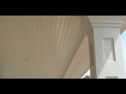 AZEK Trim Beadboard - YouTube