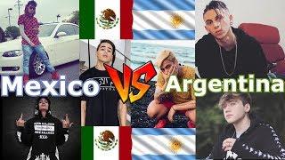 Trap Mexicano V.s Trap Argentino! Duki.Khea.Paulo vs Hotspanis.Aleman.Adan Cruz