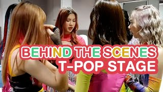 RedSpin - BEHIND THE SCENES T-POP STAGE