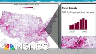 Report Exposes Data, Unconscionable Business Of Opioid Epidemic | Rachel Maddow | MSNBC