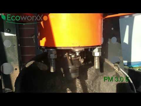 Ecoworxx PelletMaker PM 75 E + PM 3.0E