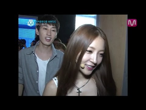 보아,리듬파워,BoA,RhythmPower @Mcountdown backstage 2012.08.02