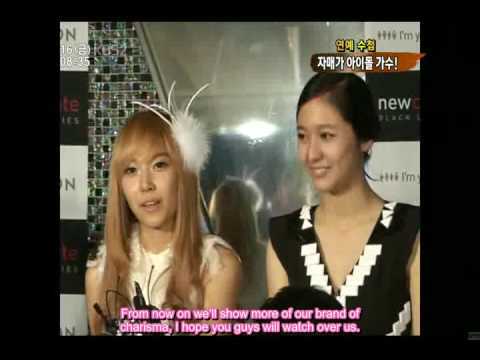[DK SUBS 091016] SNSD Jessica & F(x) Krystal @ News Time (EN)