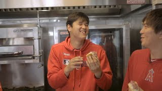 Mike Trout has Shohei Ohtani losing it while trying stadium food   Angels Weekly