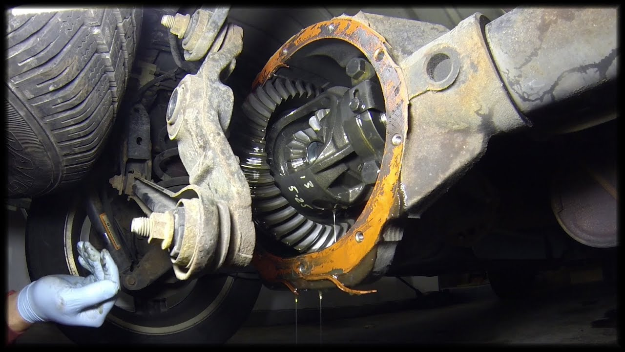 Rear Differential Fluid Change >> 2007 Dodge Durango - Rear Differential Fluid Change - YouTube