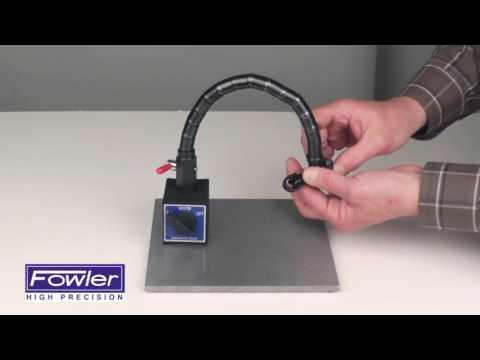 Fowler 52-585-015-0 Flex Arm Mag base