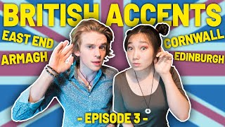 Americans React To UK Accents (Northern Irish & British Accents) | Episode 3