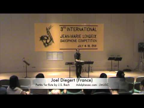 3rd JMLISC: Joel Diegert (France) Partita for flute by J.S. Bach