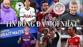 Tin bóng đá | Chuyển nhượng | 20/02/2020 | MU muốn mua Saul,Barca mua Braithwaite,Casillas giải nghệ