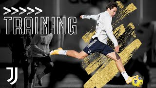 Thursday Nutmegs & Shooting Drills! | Training Ahead of Benevento | Juventus Training