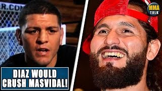 NICK DIAZ WOULD CRUSH JORGE MASVIDAL, HE'S GOT THE FIRE BACK-Cesar Gracie, Rockhold on UFC return