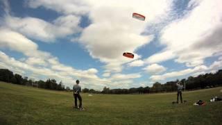 Paris - Bagatelle, slow kites & slow motion