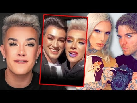 For real?! James Charles shades Shane Dawson & Jeffree Star by not giving them his palette?!