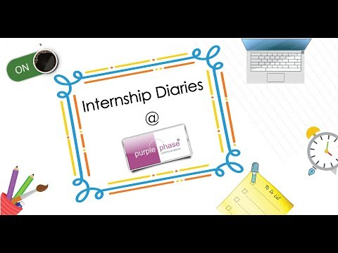 Internship Diaries @ Purple Phase Communications