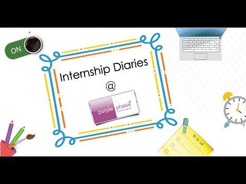 Internship Diaries @ Purple Phase Communications