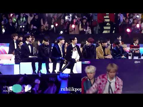 MAMA 171201 - BTS Performing ( Reaction: EXO, NCT127, Got7, Red Velvet, Day6, Wanna One)