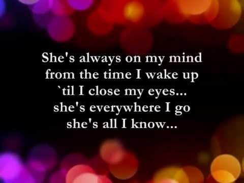 Heaven Knows  || Lyrics ||  Rick Price