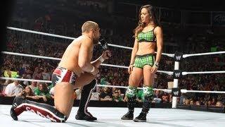 AJ Lee accepts Daniel Bryan's proposal: Raw, June 16, 2012
