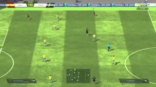 FifaOnline3 WorldCup 2014 Tây Ban Nha Vs Thụy Điển Tiquitaca