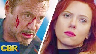 What Tony Stark And Black Widow's Final Words Really Mean In Avengers Endgame