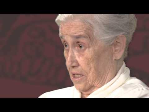 Entrevista a Conxita Soler (vídua d'Enric Jardí) sobre Eugeni d'Ors