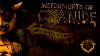 BENDY CHAPTER 3 SONG (INSTRUMENTS OF CYANIDE FT. CALEB HYLES & CHI-CHI) - DAGames
