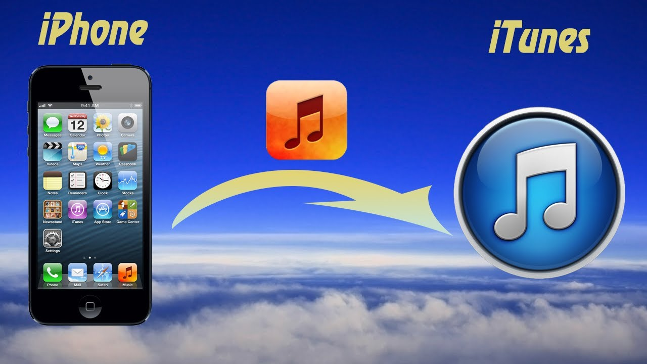 how to get itunes music on iphone how to transfer from iphone to itunes or get 20097