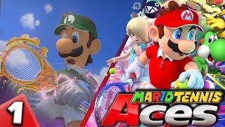 MARIO TENNIS ACES - Non toccare quella RACCHETTA! | Gameplay Mario Tennis Aces Nintendo Switch Ita