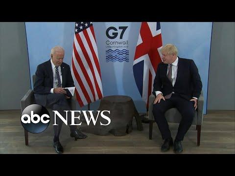 ABC News Live Update: Biden, UK PM Boris Johnson to sign new Atlantic Charter