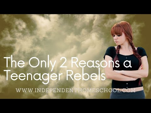 Video - The Only Two Reasons a Teenager Rebels