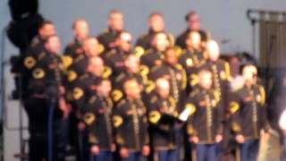 Army Chorus sings Jersey Boys