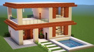Minecraft casa moderna no survival vs casa moderna no for Como hacer una casa moderna y grande en minecraft 1 5 2