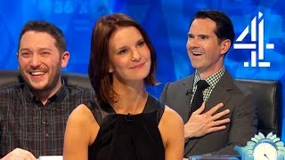 Are Jimmy's Jokes for Susie Dent TOO MUCH?? | Best of Susie Dent | 8 Out of 10 Cats Does Countdown