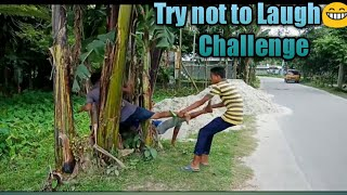 New  funny video of village boys😈 ,Try not to Laugh😁 Challenge