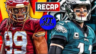 Washington Football Team Defeats Philadelphia Eagles Recap & Reaction | NFL