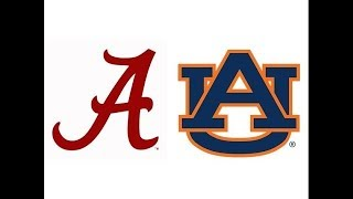 2017 Iron Bowl, #1 Alabama at #6 Auburn (Highlights)