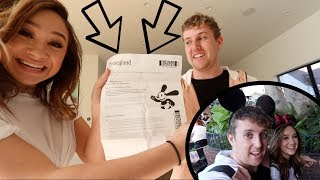 SURPRISING MY GIRLFRIEND WITH TICKETS!!!