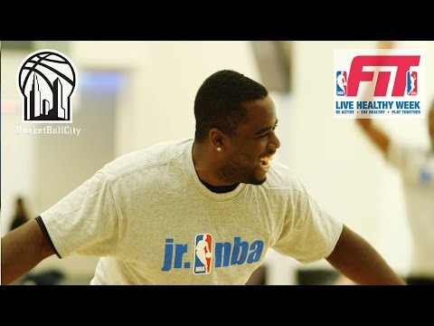 NBA FIT Healthy Week Event