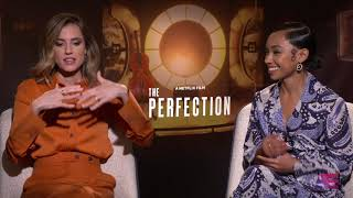 AfterEllen Interviews the cast and director of 'The Perfection' - Allison Williams & Logan Browning