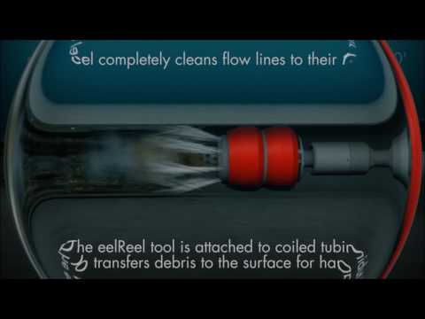The eelReel Tool is a state-of-the-art solution for remediation of pipeline blockages and production restoration.
