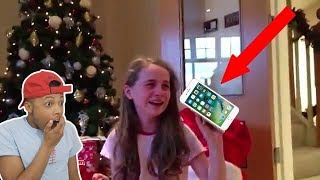 Spoiled Kids Reacting to EXPENSIVE GIFTS Compilation