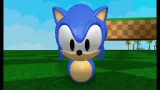 Sonic the Hedgehog??? (Sonic Roblox Fangame)
