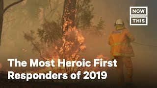 The Most Heroic First Responders of 2019 | NowThis