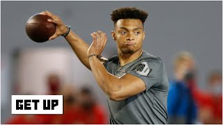 Did Justin Fields' 2nd pro day sway the 49ers into drafting him? | Get Up