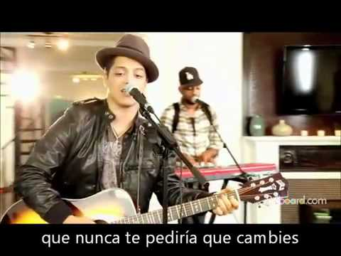 Bruno Mars - Asi como Eres (acustico)