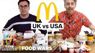 US vs UK McDonald's | Food Wars