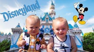 BABIES AT DISNEYLAND!