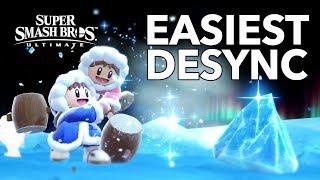 EASIEST DESYNC METHOD! - Ice Climbers   Super Smash Bros. Ultimate